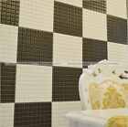 3D Mosaic Design Wall Paper Sticker Self Adhesive Water Resistant WallPaper S1