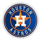 Houston Astros Round (Blue) Decal / Sticker Die cut