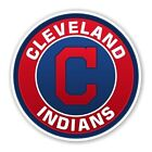 Cleveland Indians Round Decal / Sticker Die cut on Ebay