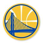 Golden State Warriors Round  (Gold)  Decal / Sticker Die cut on eBay