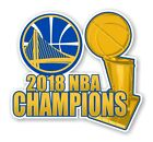 Golden State Warriors NBA Champions 2018 Decal / Sticker Die cut on eBay
