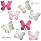 THE FAIRY PRINCESS UK SPARKLE GLITTER BUTTERFLY FAIRY WINGS - LOT PARTY PACKS
