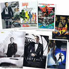 007 James Bond OFFICIAL 50 Years 50th Anniversary 2012/2013 Post Cards UK issue $5.38 AUD