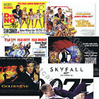 007 James Bond OFFICIAL 50 Years 50th Anniversary 2012 Quad Art Prints UK issue $11.29 AUD