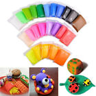 New Trendy Kids DIY Malleable Fimo Polymer Modelling Soft Clay Blocks Plasticine image