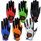 Zero Friction Golf Glove Compression-Fit LEFT Hand -Variety Colors
