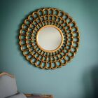 ROUND STUNNING GOLD MIRROR MM84
