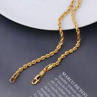 """SALE 9ct 9K """" Gold Filled """" Prom Ladies Rope Chain Bracelet  2,3,5,6mm Xmas p905"""
