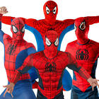 Spiderman Mens Fancy Dress Marvel The Avengers Superhero Book Day Adults Costume