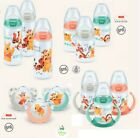 NUK First Choice Plus Disney Winnie the Pooh Baby Bottle 300ml & soothers
