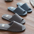 Mens Slippers Indoor Home Anti-slip Bed Shoes Flip Flops Cotton Living Size 11
