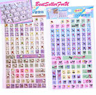 Licensed Sanrio Computer PC Keyboard (Eng & Chinese) Stickers Vinyl Decals Decor