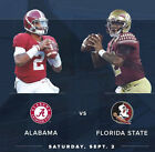 Alabama vs Florida State - 2 Tickets Together Bama Section(TIDE PRIDE) 9 2 2017