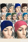 NEW SHIMMER GLITTER BONNET CAPS HIJAB UNDERSCARF CHEMOTHERAPHY HAIR LOSS HAT