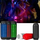 LOT LED Portable Bluetooth Speaker Color Changing Light Up Pulse Wireless Mic OY