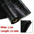 1.5M in 100G HEAVY DUTY Weed Control Fabric Ground Membrane Cover Garden