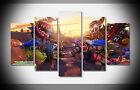 7396 plants vs zombies garden warfare video game Poster print with framed canvas