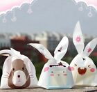 50pcs Candy Gift Bag Rabbit Ear Cookie Biscuit Cute Cartoon Party Wedding Decor