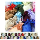 """60PCS Satin Gift Bag Drawstring Pouch Wedding Favors Jewelry Gift Bags - 3""""x4"""""""