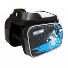 Waterproof Large Capacity Bicycle Front Top Tube Frame Bag Smartphone Holder