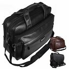 High Quality Faux Leather Polyester Laptop Business Satchel Bag Work Briefcase