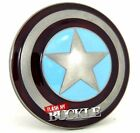 Captain America Winter Soldier - Superhero Metal Belt Buckle with/without Belt