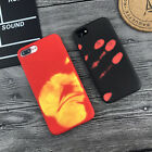 Soft TPU Thermal Heat Discoloration Induction Back Case Cover For Apple iphone