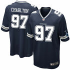 Dallas Cowboys Taco Charlton Nike Navy 2017 #1 Draft Pick Game Jersey