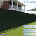 EK Green 4'x50'FT Fence Windscreen Privacy Screen Shade Cover Mesh Fabric Tarp