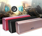 Bluetooth wireless Mini Portable/Home/Desktop Speaker USB+SD+Aux In Stereo New