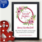 Personalised Congratulations Well Done Graduation University College Gifts Her