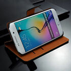 For Samsung Galaxy S4 Active Genuine Leather Flip Wallet Case Cover Card Holder