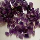 Loose Small Amethyst Tumblestone  - NO HOLE - Jewellery Making -10, 20 30 g bags
