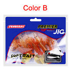 1 Bag Soft Lures Silicone Fishing Baits 8.5cm/7.5cm-5.3g/13g Soft Fishing Tackle