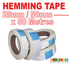 50m High Tac Very Strong Double Sided Adhesive Banner Hemming Tape Sign Making