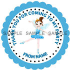 Personalised Fairy stickers for Sweet Cones etc * 3 Sizes * Ref MX09-17