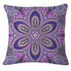 Bohemia patterns Cotton Linen Throw Pillow Case Cushion Cover Home Decor 18""
