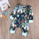 Adorable Infant Baby Boys Girls Cotton Romper Bodysuit Jumpsuit Clothes Outfits