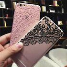 Luxury Retro Lace Thin Silicone Case Cover Skin for Apple iPhone 6&6s 4.7'/Plus+