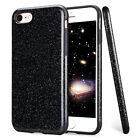 Bling Glitter Sparkle PU Leather TPU Shockproof Case Cover for iPhone 6s/7/Plus