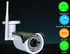 Outdoor 720P 1080P Wireless Invisible IR light CCTV IP Camera Optional SD card