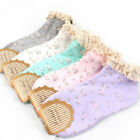1/5 Pairs Women Ladies Girls Floral Lace Casual Cotton Trainer Ankel Socks Lots