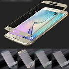 3D Curved Plating Full Cover Temper Glass Screen for Samsung Galaxy S6 Edge/Plus