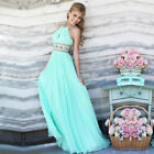 Women Long Evening Prom Party Dress Bridesmaid Dresses Ball Gown Cocktail Dress