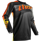 THOR S7 PULSE VELOW JERSEY BLACK/ORANGE MX OFF-ROAD LOGO JERSEY $23.95 FREE SHIP