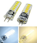 G4 GY6.35 LED Bulb 12-5730 SMD Silicone Candle Lamp 12V Crystal Droplight Light
