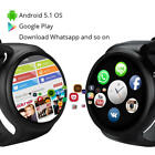 I4 Smart Watch 1+16GB MTK6580 Android5.1 SIM Card 3G WIFI GPS Heart Rate Monitor