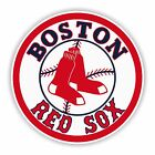 Boston Red Sox Round Decal / Sticker Die cut