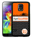 HALLOWEEN MONOGRAM RUBBER CASE FOR SAMSUNG NOTE 8 5 4 3 HAUNTED HOUSE SPOOK