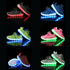 Children  Boys Girls Luminous Sneakers Running shoes Led Light Up Shoes US Shop!